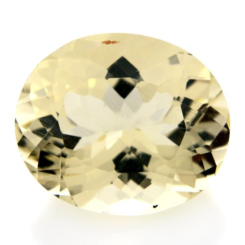 Natural Africa Yellow Labradorite Gemstone Oval Cut 5.95cts 13*11mm VVS Grade