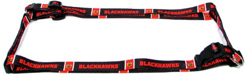Hunter MFG 5/8-Inch Chicago Blackhawks Adjustable Harness, X-Small (Chicago Blackhawks Dog Harness compare prices)