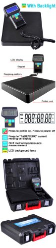 Digital Refrigerant Charging Scale 220 Lbs Capacity w/ Case