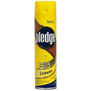 Pledge Cb723725ea Furniture Polish Lemon 12 5 Oz Aerosol Industrial Scientific