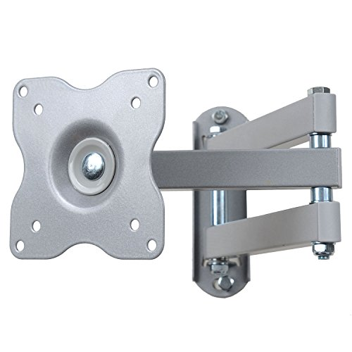 VideoSecu Swing Tilt Single Arm Computer Monitor Wall Mount for 15