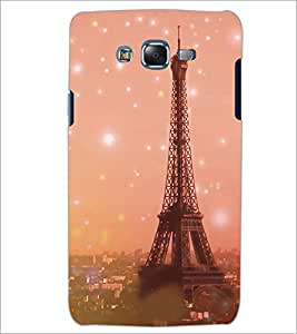 PrintDhaba Tower D-3927 Back Case Cover for SAMSUNG GALAXY J7 (Multi-Coloured)