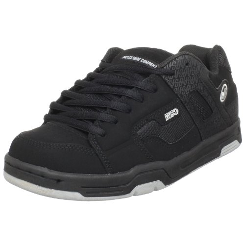 DVS Men's Enduro Skate Shoe,Black Nubuck,11 M US