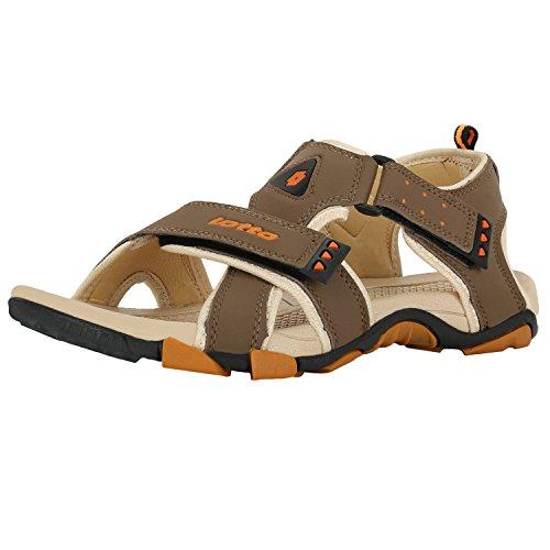 Lotto Men's Sandals Musketeers Brown/Beige GT7076 UK/IN 6