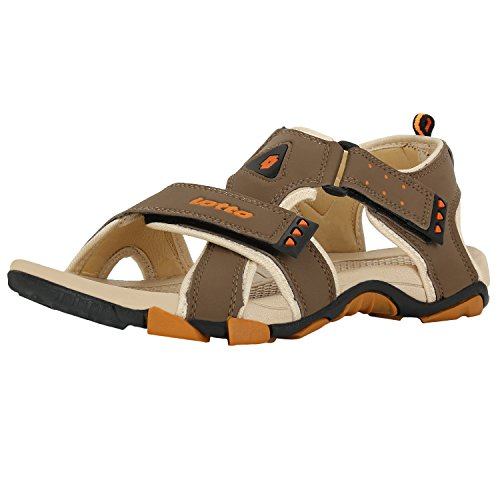 Lotto Men's Sandals Musketeers Brown/Beige GT7076 UK/IN 9