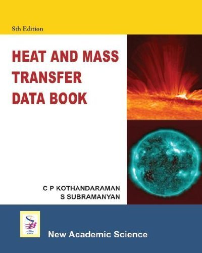 Heat and Mass Transfer Data Book