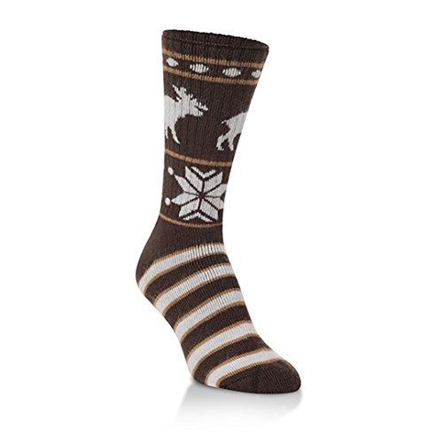 World'S Softest Women'S Novelty Classic Collection Crew Socks (Moosin Up) Medium - (W 5.5-9.5, M 5-8)