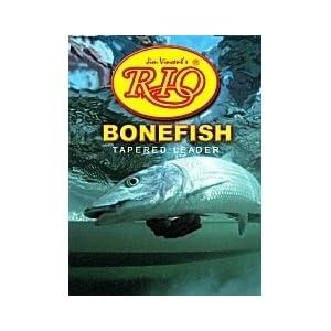 Rio Bonefish 10ft Leader 3 Pack