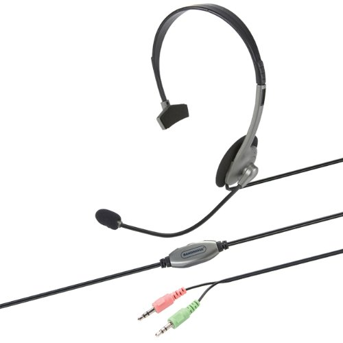 Bandridge VoIP Headset with Omni Directional Mic and Voume Control