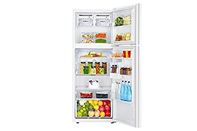 Samsung RT39HAUDE1J/TL Frost-free Double-door Refrigerator (393 Ltrs, 4 Star Rating, Shiny River White)