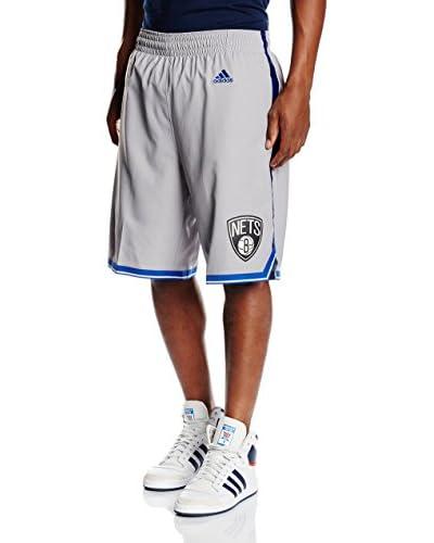 adidas Bermuda Brooklyn Nets Gris / Azul