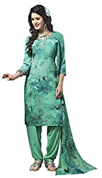 VSS Collections Women's Synthetic Unstitched Dress Material(1070,Multi-Color)
