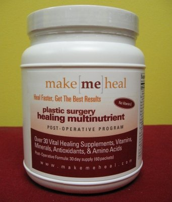 Make Me Heal Plastic Surgery Healing Supplements & Vitamins - Post-Op Formula (w/Bromelain) - 30 Day