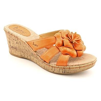 Amazon.com: BOC Women's Rosebay Sandal Wedge (11, Orange): Shoes