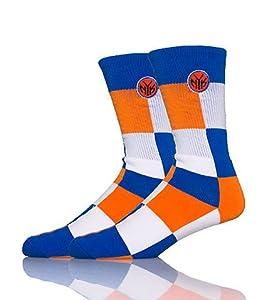 NBA Newyork Knicks Color Blocks Socks by FBF
