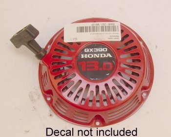 Ho-28400Ze3W02Zp Recoil Starter, Red, Used On 11Hp Gx340K1 And 13Hp Gx390K1 Engines Honda Engine Parts