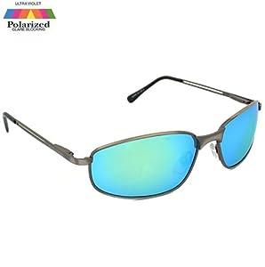 Eyelevel - Lunettes De Soleil UV 400 Pour Pèche Et Sports - Monture argentée Capri - Verres sport, Monture argentée Capri - Verres sport