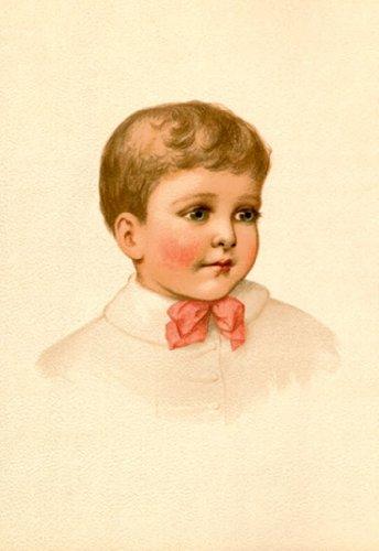Boy No. 1, By Ida Waugh, 24X36 Paper Giclée front-882705