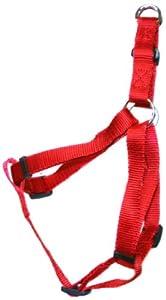 BBD Nylon Dog Harness, 3/4-inch, Medium, Red