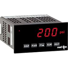 Red Lion PAXDP 1/8 DIN Dual Process Input Meter, 5 Digit LED Display, 50/60 Hz