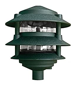 Dabmar lighting d5000 g pagoda fixture 3 tier incand 120v for 120v landscape lighting