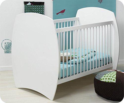Babybett Medea weiß 60 x 120 cm