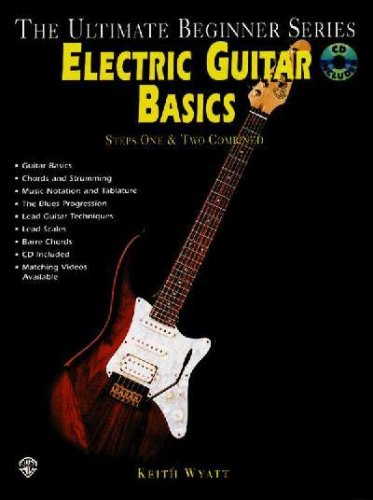 Electric Guitar Basics, Steps 1 & 2 Combined **Isbn: 9781576234068**