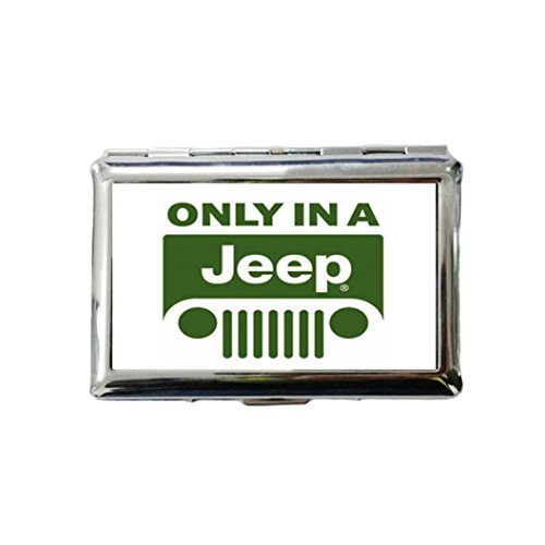 Stainless Steel Only in a Jeep Cigarette Holder Protective Security Wallet