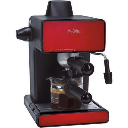 Mr. Coffee Espresso Maker, BVMC-ECM260R, Red (Red Espresso Machine compare prices)