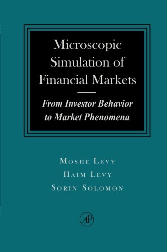 Microscopic Simulation of Financial Markets