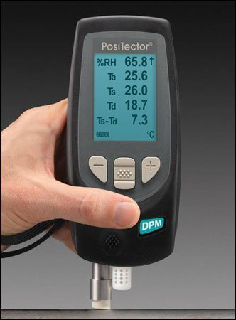 PT-DPM1 PosiTector Dew Point Meter, Standard Model with Integrated Probe - 1