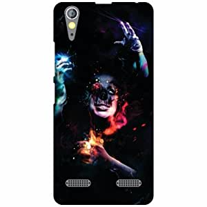 Printland Dark Phone Cover For Lenovo A6000 Plus
