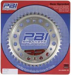 Pbi Aluminum Rear Sprocket - 42T , Sprocket Teeth: 42, Sprocket Position: Rear, Material: Aluminum, Color: Natural, Sprocket Size: 520 3160-42