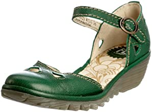 Fly London Yuna, Girls' Wedge Court Shoes