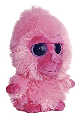 Aurora Plush Yoohoo Friend Pink Gorilla Noise 5""