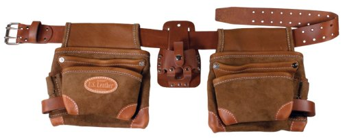 BucketBoss 88447 Leather Construction Rig (Plumbers Tool Pouch compare prices)
