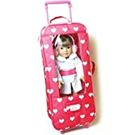 Doll Travel Case Suitcase Storage Bag…