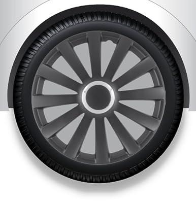 Radkappen/Radzierblenden 17 Zoll Spyder pro black von octimex - Reifen Onlineshop