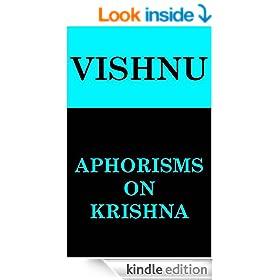 Aphorisms on Krishna