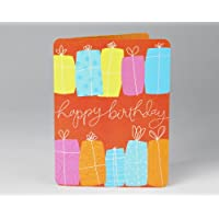 Bright Presents Birthday Card
