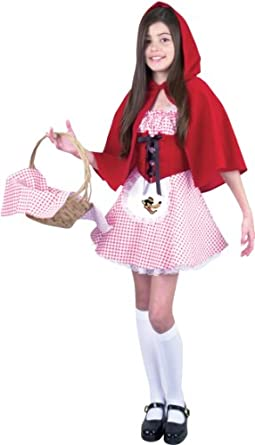 Childs Short Little Red Riding Hood Costume Size: Youth Large