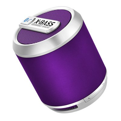 Bluetune Solo V3 (Newest Version) - By Divoom, The Best Selling Bluetooth Wireless Portable Speaker, Usable With Tablets, Phones, Apple, Samsung, Mp3, Laptops And More! (Purple)