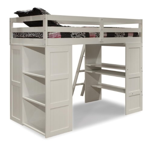 Canwood Skyway Loft Bed Twin Tower Desk Under Storage