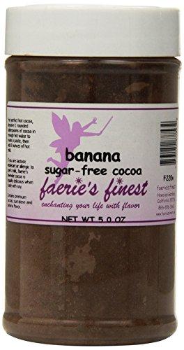 Faeries Finest Sugar-Free Cocoa, Banana, 5 Ounce