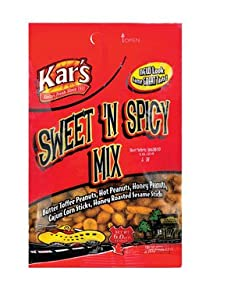 Kar Nut Products Company 8468 Sweet Spicy Mix 6 Oz Pack Of 12 from KAR NUT PRODUCTS COMPANY