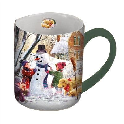 Lang Frosty Mug By D.R. Laird, 14-Ounce, Multicolor