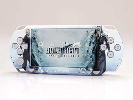 FINAL FANTASY VII SP (Slim) Dual Colored Skin Sticker, PSP 2000