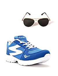 Elligator Sports Shoes With Lotto Aviator Sunglass - B00WSDQ5X8