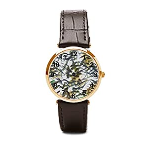 Starry sky Leather Bracelet Watch Watch Bands Leather Zazzle Green