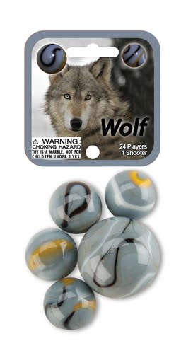 Wolf 24 Player & 1 Shooter Mega Marbles Net Set - 1